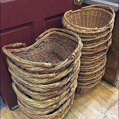 Just in case you need just a little extra space, this retailer provides Wicker Shopper Carries in Two Sizes right inside the door, small and medium. Compare And Contrast, Just In Case, Carry On, Wicker, Cart, Retail, Stuff Stuff, Covered Wagon, Hand Luggage