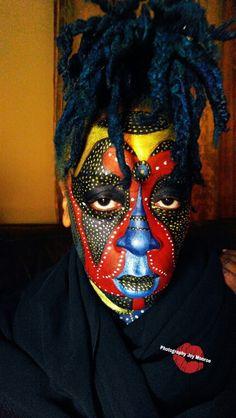 Face paint by Joy Monroe