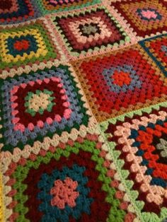 beautiful crocheted afghan