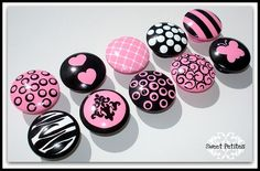 Hand Painted Knobs  Dresser Drawer Knobs   by SweetPetitesBoutique, $7.00