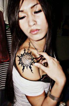Tatuajes para hombro y omóplato