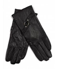Rewelacyjne, ciepłe rękawiczki ze skóry ekologicznej. Ozdobią i ochronią Twoje dłonie w zimne dni.