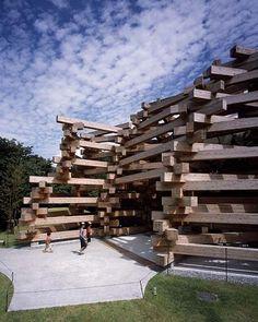Woods of Net by Tezuka Architects