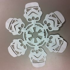 DIY Star Wars Snowflakes