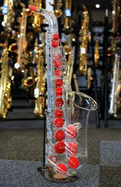 Vibrato Transparent Saxophone