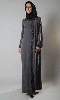 676f28c081697 Melanie Front Open Snap Abaya Duster Melanie Front Open Snap Abaya Duster  Add to wishlist. Muslim Dress, Islamic Clothing ...