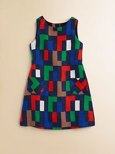 Milly Minis Puzzle Shift Dress