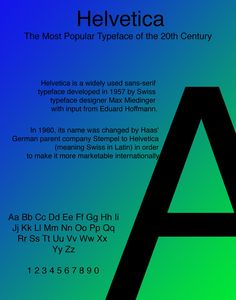 -Garret Stoner -Typography SP2017 SCC -Project 4: History of Type - We needed to show the history of a type font in this assignment. I'm content with this one personally, but it could use significant development if I'd had more time.