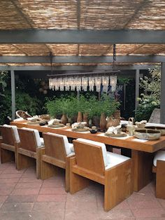 Lovely Love The Urban Zen Dining Table And Chairs From Donna Karan   Can Be Used  Indoors