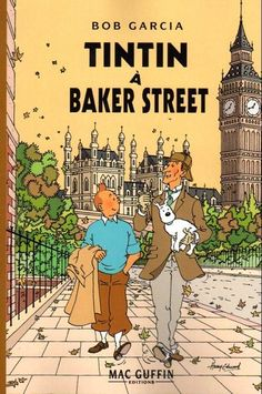 Tintin and Sherlock Holmes?! I can now die in peace