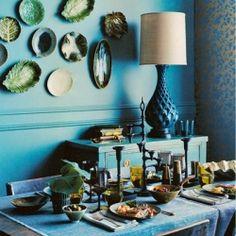 Beautiful blue : design inspirations.