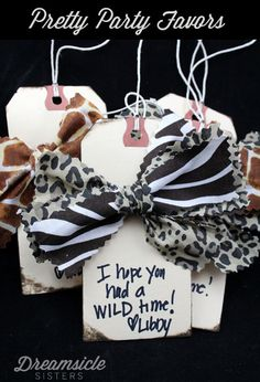 DIY Hair Bow Party Favors This would be so cool after a jewelry party