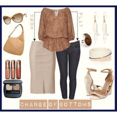 Change of Bottoms, created by ybello75 on Polyvore