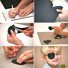 Pirate Party Ideas - Free Decor, Food and Fun Pirate Craft Ideas Kids will Love How to Make a Pirate Eye Patch with FREE printable template via Paging Supermom Diy Pirate Costume For Kids, Homemade Pirate Costumes, Pirate Kids, Pirate Halloween, Pirate Day, Pirate Birthday, Pirate Theme, Diy Costumes, Halloween Diy