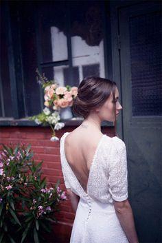 Christina Sfez - Robes de mariée | Modèle: Deborah | Crédits: Lucie Cipolla | Blog mariage