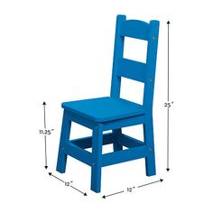 Melissa & Doug Table & 4 Chairs - Primary Colors 5-pc. Kids Table + Chairs-Painted Kids Table And Chairs, Kid Table, Melissa & Doug, Painted Chairs, One Color, Primary Colors, Paint Colors, Painting, Furniture