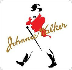 Johnnie Walker logo image in png format. Size: 475 x 300 pixels. Johnnie Walker Whisky, Walker Logo, Alcohol Bar, Fridge Stickers, Color Effect, Colour, Wall Bar, Scotch Whiskey, Logo Images