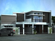 Modern Home Designs in Two Storey 3