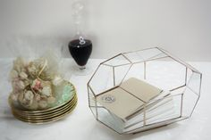 Wedding Card Box Glass Card Box Wedding Card by MuditaCrafts
