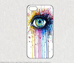 Big eyesiphone case iphone 4/4S case iphone 5 cover by lafang, $6.89