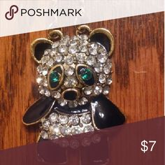😻$5 SALE😻 Panda Necklace NEW Panda Stoned Pendant Goldtone chain Long Chain New Jewelry Necklaces