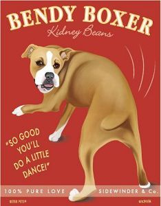 So true! Boxers do the bendy bean because they are so excited to see you!