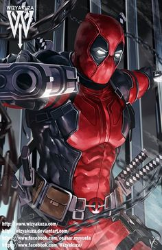 Deadpool Marvel Comics 11 x 17 Digital Print by Wizyakuza Bd Comics, Marvel Dc Comics, Marvel Heroes, Anime Comics, Marvel Avengers, Marvel Logo, Deadpool Wallpaper, Avengers Wallpaper, Comic Book Characters
