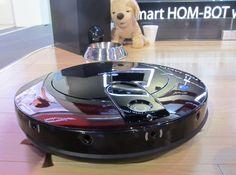 LG's Hom-Bot robo-vac--  program from  cell