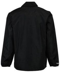 Mitchell & Ness Men's Atlanta Hawks Coaches Jacket - Black XXL