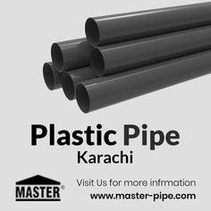 Are you using #PlasticPipe for your commercial and residential areas? Use only quality pipes for this area. For more details visit our site www.master-pipe.com/.