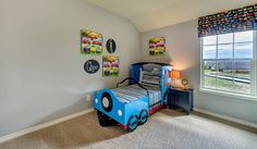 What a cute idea for a little boys bedroom! ^KL