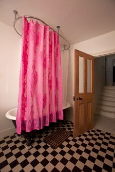 #pinloveArcelik fuşya  shower curtain