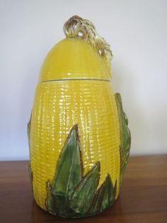 McCoy Ear of Corn Cookie Jar - Yellow 1958