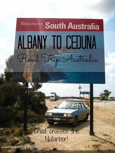 Crossing the Nullarbor. Road Trip Australia!