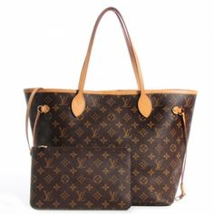 Louis Vuitton Neverfull MM in Monogram w/ Mimosa Interior Louis Vuitton Neverfull Mm, Luxury Shoes, Monogram, Footwear, Brand New, Handbags, Tote Bag, Boutique, Interior