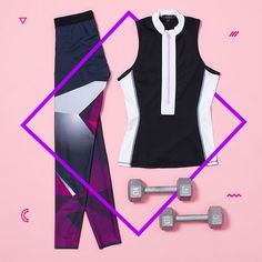 Shop the ultimate edit for lively leisure, sweaty breakthroughs, and inspired hustle. Activated style for elevated well-being. Flat Lay Photography, Clothing Photography, Fashion Photography, Product Photography, Athletic Outfits, Athletic Wear, Athletic Tank Tops, Clothing Displays, Fitness Fashion