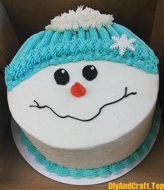 Merry Christmas Happy New Year Christmas Tree and Santa Claus Cake - DİY Creative Cooking Christmas Cake Designs, Christmas Cake Decorations, Christmas Cupcakes, Christmas Sweets, Holiday Cakes, Holiday Desserts, Holiday Baking, Christmas Baking, Merry Christmas