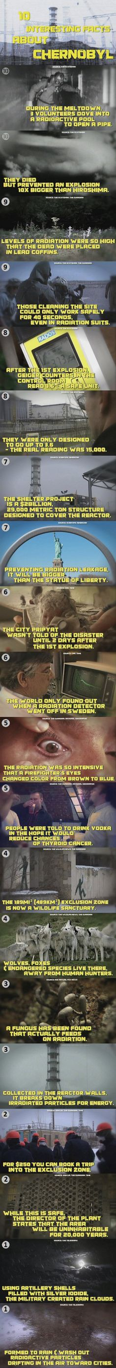 Chernobyl Facts - Fact Picture | Webfail - Fail Pictures and Fail Videos