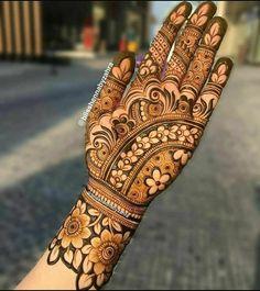Modern Henna Designs, Floral Henna Designs, Latest Bridal Mehndi Designs, Full Hand Mehndi Designs, Stylish Mehndi Designs, Henna Art Designs, Mehndi Designs For Girls, Mehndi Designs For Beginners, Mehndi Design Photos
