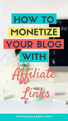 Want to make money from your blog but not sure what's the best way? Affiliate marketing is an easy way to monetize your blog, and it can be super effective too. Read all about it here. Click to learn more.