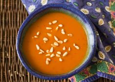 Spicy Pumpkin and Red Chile Soup from @MJs Kitchen