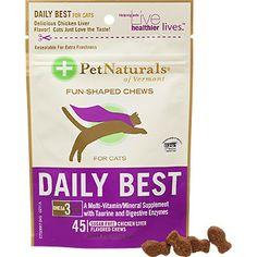 Pet Naturals Daily Best Cat Soft Chews