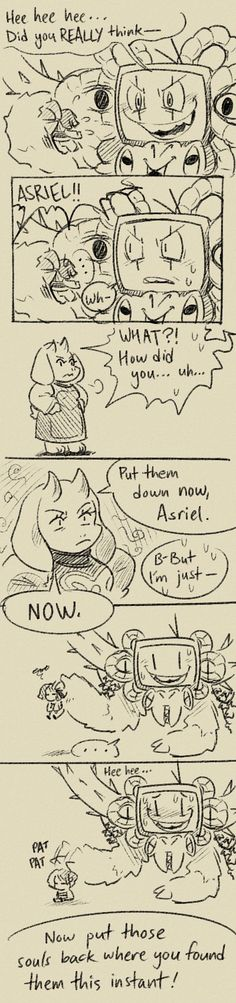 Undertale! Goat Mom to the rescue!