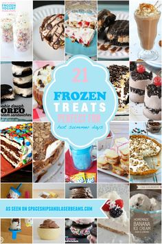 21 Frozen Treats for Summer - Spaceships and Laser Beams