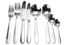 Stainless Cutlery Sets ~ http://lanewstalk.com/luxurious-cutlery-design/