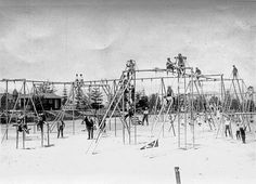 Vintage Playgrounds of Seattle, Washington - Playscapes