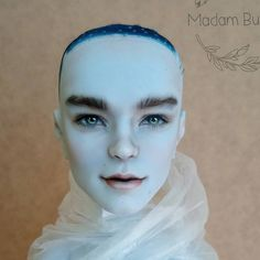 """555 Likes, 10 Comments - Madam Bu (@madam.bu) on Instagram: """"OOAK Invisi Billy in progress  ООАК Инвизи Monster High в работе.  #monsterhigh #invisibilly…"""" Realistic repaint"""