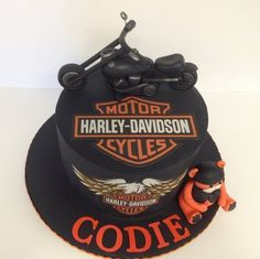 Harley Davidson  Cake by Unusual cakes for you