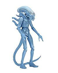 "NECA Aliens 7"" Scale Series 11 Blue Warrior Action Figure"
