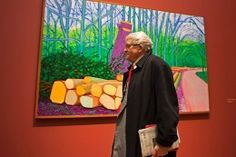 Hockney-Ausstellung A Bigger Picture in Köln